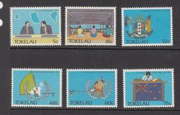 1988 Tokelau  Political Development UN    Complete Set Of 6  MNH - Tokelau