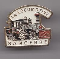 Pin's La Locomotive Sancerre Train Réf 7822JL - Villes