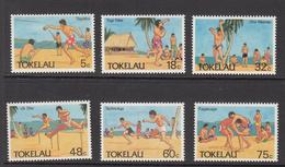 1987 Tokelau  Olympic Sports    Complete Set Of 6  MNH - Tokelau