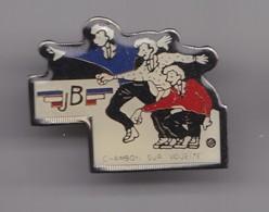 Pin's  J.B. Chambon Sur Voueize Pétanque Bouliste Réf 7831JL - Bowls - Pétanque