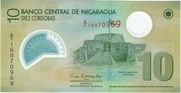 Nicargaura 10 Cordobas 12-9-2007 Pick 201a UNC - Nicaragua