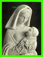 RELIGIONS - IMAGES, NOTRE-DAME DU ROSAIRE, GOURDON, SCULP - SCHAEFER, ÉDITEURS - DIMENSION 23.5 X 17.5 Cm - - Religion & Esotérisme