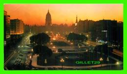 BUENOS AIRES, ARGENTINA - PLAZA CONGRESO AL ATARDECER - EDICIONES DOBLE A  - DIMENSION 10 X 18 Cm - - Argentine