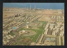 Saudi Arabia Old Picture Postcard Aerial View Al Khalidia Jeddah View Card - Saudi Arabia