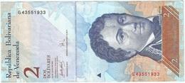 Venezuela 2 Bolivares 24-5-2007 Pick 88b Ref 1 - Venezuela
