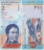 Venezuela 2 Bolivares 31-01-2012 Pick 88d UNC - Venezuela