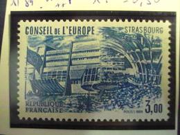 "1984-SERVICE Timbre N° 84       ""   Conseil Europe  3.00       ""     Cote    1.5          Net       0.50 - Neufs"