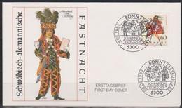 BRD FDC 1983 Nr.1167  Schwäbisch-alemannische Fastnacht ( D 842 )  Günstige Versandkosten - FDC: Briefe
