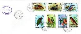 DOMINICA   FDC  1976  Birds   /   La  DOMINIQUE  Oiseaux - Vögel