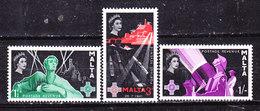 -Malta  1958-Georg Cross -Serie Completa  Nuova MLLH - Malta (...-1964)