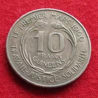 Guinea 10 Francs 1962  Guinee Guine - Guinée