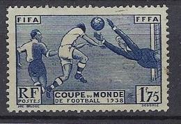 France 1938 Coupe Mondial De Football Y&T N° 396 - Usati