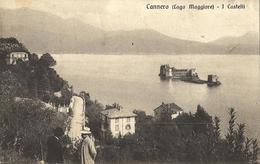 Cannero (Lago Maggiore) - I Castelli (formato Piccolo - Animata) - Italie