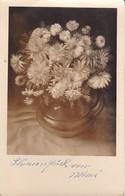AK Vase Mit Blumen - Sonderstempel Grundsteinlegung Linzer Dom 1962  (37993) - Blumen