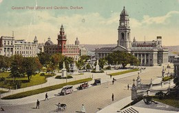 PC Durban - General Post Office And Gardens - 1916 (37994) - Südafrika