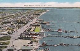 Texas Corpus Christi Aerial View North Beach - Corpus Christi