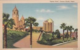 Texas Corpus Christi Spohn Park 1943 Curteich - Corpus Christi