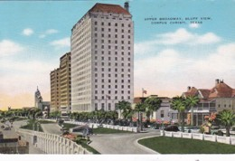 Texas Corpus Christi Upper Broadway Bluff View 1947 - Corpus Christi