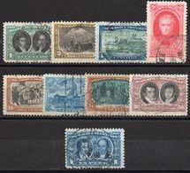ARGENTINA : C320  -  1910  9 Used Pieces Of Set  To 1 P. - Argentina