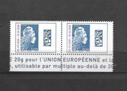 ****  Y & T **  Marianne L'Engagée Bande En Bas 2 Timbres Europe   26/58 - 2018-... Marianne L'Engagée