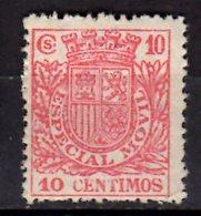 Spain - Especial Movil - 10 C Red - MNH** (hj) - Steuermarken/Dienstpost