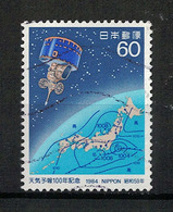 Japan Mi:01588 1984.06.01 Centenary Of Weather Forecast(used.w) - Oblitérés