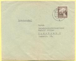 Deutsches Reich - 1939 - 3 Turn- Und Sportfest, Breslau 1938 - Drucksache - Viaggiata Da Colditz Per Radebeul - Storia Postale