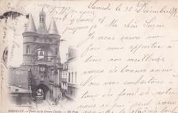 CPA Précurseur / 2 CPA De Bordeaux Avec Cachets 1899 Colonnes Rostrales Et Porte Grosse Cloche - Bordeaux