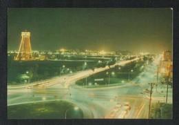 Saudi Arabia Picture Postcard Aerial View Night View Al Khobar View Card - Saudi Arabia