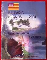 Rare Coffret Série 8 Pièces Euros Probe Essaie Îles Baléares Année 2004 Édité À 7 000 Exemplaires Seulement ! Pattern ! - EURO