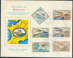 °°°  MONACO - FDC 1964 °°° - Monaco