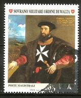 2007 ORDINE DI MALTA SMOM       Serie Completa Usata FDC Bellissima - Sovrano Militare Ordine Di Malta