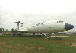 AIRPLANE AEROPLANE AIRCRAFT TUPOLEV TU-154 HUNGARIAN AIRLINES MALEV AEROPARK BUDAPEST AIRPORT * Reg Volt 0220 * Hungary - 1946-....: Ere Moderne