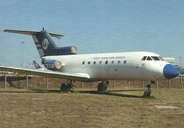 AIRPLANE AEROPLANE AIRCRAFT YAKOVLEV YAK-40 HUNGARIAN AIRLINES MALEV AEROPARK BUDAPEST AIRPORT * Reg Volt 0221 * Hungary - 1946-....: Ere Moderne