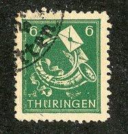 W-8678 Thuringen  Mi.#95 (o) ( Cat.3.00 € ) - Offers Welcome! - Sowjetische Zone (SBZ)