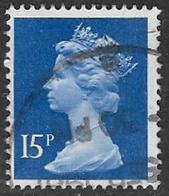 GB SGX947 1979 Machin 15p Good/fine Used [20/18684/25D] - 1952-.... (Elizabeth II)