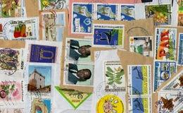 AFRICA FRENCH KILOWARE StampBag 100g (3½oz) Modern - Africa (Other)