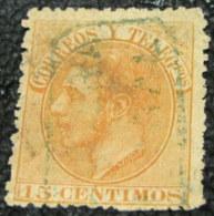 Spain 1882 King Alfonso XII 15c - Used - 1875-1882 Kingdom: Alphonse XII
