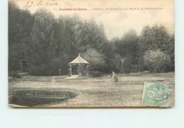 FONTAINE LE BOURG Le Parc A La PISCICULTURE  FRCR91389 - France