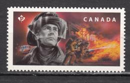 Canada, MNH, 2018, Pompier, Firefighter, Die Cut - Sapeurs-Pompiers