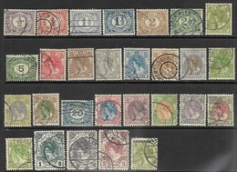 Netherlands  1899-1922  28 Diff Including 1g/2g/5g Queen  Used   2016 Scott Value $25 - Period 1891-1948 (Wilhelmina)