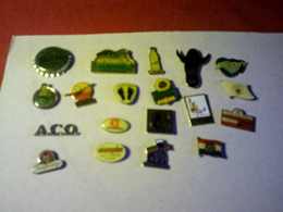 19  PIN'S   /  DIFFERENTS - Badges