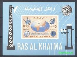 Ras Al Khaima 1966 MNH ( ZS10 RAKbl7B ) - Telecom