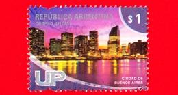 ARGENTINA - Usato - 2008 - Turismo - Vedute Di Città - Buenos Aires - $ 1 - Usati