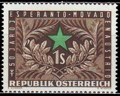 ** Austria - 1954 - Mi. 1005 - Esperanto - 1945-.... 2ème République
