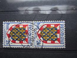 "VEND BEAUX TIMBRES DE FRANCE N° 902 EN PAIRE , CACHET "" ORLEANS "" !!! (b) - 1941-66 Coat Of Arms And Heraldry"
