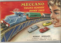MECCANO , HORNBY , DINKY TOYS : CATALOGUE 1958 - Autres Collections