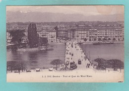 Old Post Card Of Geneve,Geneva, Geneva, Switzerland,R84. - GE Ginevra