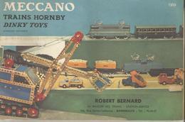 MECCANO , HORNBY , DINKY TOYS : CATALOGUE 1959 ET PRIX DE VENTE AU DETAIL - Autres Collections