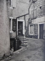 LOZERE PONT DE MONTVERT PASSAGE ETROIT CARTE PHOTO 17 X 11.5 - France